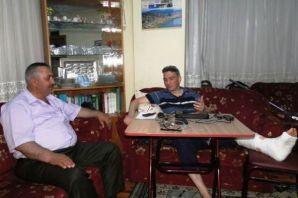 Yüksel Yaşar'ın ev ziyaretleri sürüyor