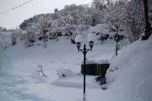 Kar Of'ta keyfe dönüştü