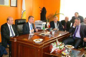 Milletvekili Saral'dan ilçe yönetimine ziyaret