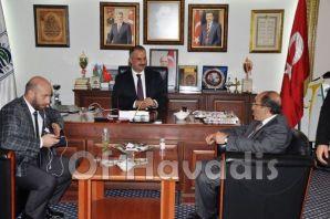 Başkan Gümrükçüoğlu Of'ta partililerle buluştu