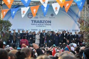 Oflular Başbakan için Trabzon'a aktı