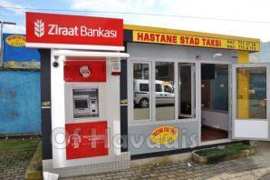 Taksi Duraklarının ilk ATM Ziraat Bankası'ndan