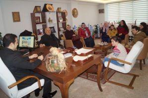 Dayıoğlu Rehabilitasyon'dan Kaymakam Fırat'a ziyar