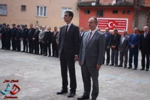 Dernekpazarı'nda Atatürk anıldı