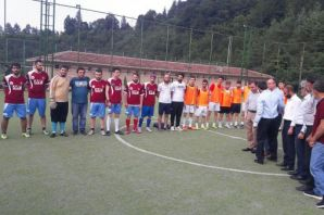 Dernekpazarı'nda Kardeşlik turnuvası