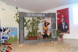 Atatürk Ortaokulu'nun yılsonu etkinliği