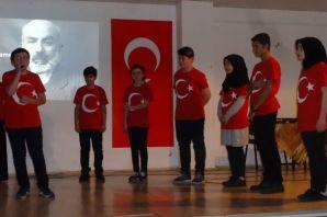 Dernekpazarı'nda İstiklal Marşının kabulünün 97. y