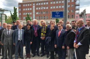 Almanya'nın Dortmund kentinde 'Trabzon Meydanı' Aç