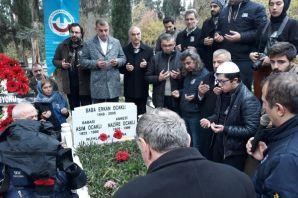 Erkan Ocaklı ölümünün 10.yılında kabri başında anı