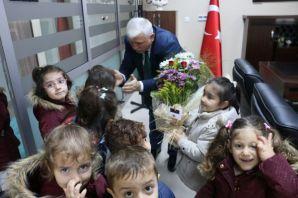 Eskipazarlı Miniklerden Kabahasanoğlu'na Öğretmen