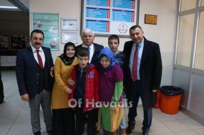 Fatih Sultan Mehmet Ortaokulu'nda karne heyecanı