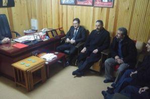 Kaymakam Fırat'tan Saadet Partisi'ne iade-i ziyare