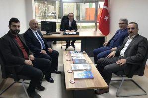 Müdür Harputoğlu'na hayırlı olsun ziyareti