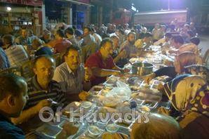 Başkan Gümrükçüoğlu Çaykaralılarla oruç açtı