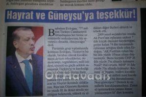 Mehmet Nuhoğlu Hayrat Rekor