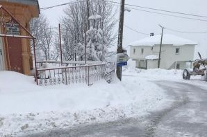 Büyükşehir yüksek kesimlerde kar mücadelesine başl