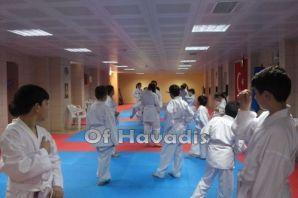 Karateciler Artvin Borçka'da kamp yaptı