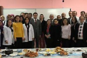 Kaymakam Fırat'tan Şehit Öğretmen Ali Bulut'a ziya