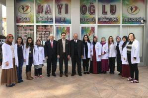 Fırat'tan Dayıoğlu Rehabilitasyon Merkezine ziyare