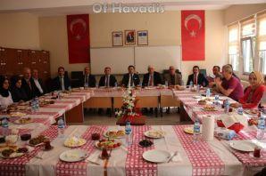 Kaymakam Fırat'tan Fatih Sultan Mehmet'e ziyaret