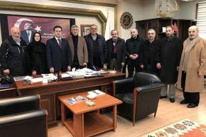 Kaymakam Fırat'tan Belediye Meclisine iade-i ziyar