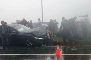 Kıyıcık'ta Kaza; 3 kişi yaralandı