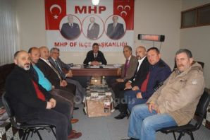 Of Memur-Sen'den MHP'ye ziyaret