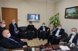 Memursen'den Çapoğlu ve Sarıalioğlu'na ziyaret