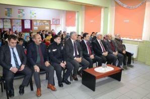 Kaymakam Fırat ve Başkan Sarıalioğlu'ndan öğrencil