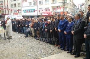 Mustafa Akyüzlü cenaze