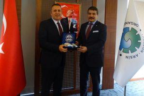 Müdür Alper'den Arsin OSB'ye ziyaret