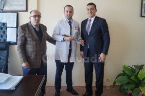 Müdür Emir'den Dayıoğlu ve Beyaz Umut'a ziyaret