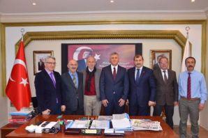 Zengin'den Kaymakam Fırat ve Başkan Sarıalioğlu'na