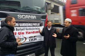 Of'tan Türkmen ve Suriyeli Müslümanlara yardım