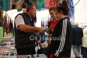 Of Anadolu Öğretmen Lisesi öğrencilerinden çevre