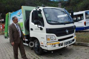 Of Belediyesi 5 yeni araç