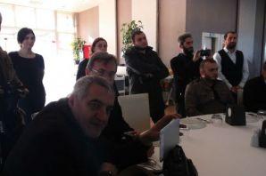 Başkan Sarıalioğlu, basın mensuplarını kahvaltıda