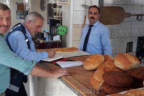 Of'taki ekmek gramajları fazla çıktı