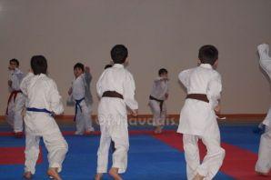 Bölgenin genç karatecileri Of'ta kampta buluştu