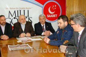 Of Saadet Partisi'nden Basın Toplantısı