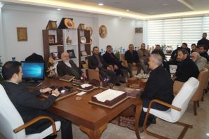 Saadet Partisi'nden Kaymakam Fırat'a ziyaret