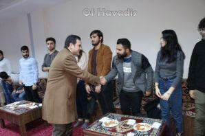 Of Yönetimi üniversiteli gençlerle buluştu