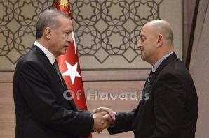 Saral'dan Cumhurbaşkanı Erdoğan 'a hayırlı olsun z