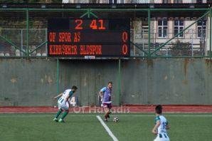 Ofspor Lider Kırşehir Belediyespor'u tek golle geç