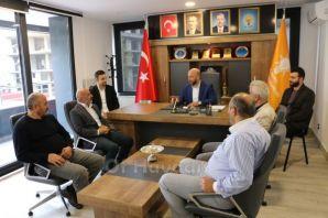 Ofspor'dan Başkan Terzioğlu'na ziyaret
