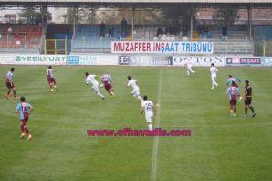 Ofspor 0-0 Menemen Belediyespor maç fotoğrafları