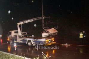 Of Soğukpınar'da kaza; 1 bebek öldü