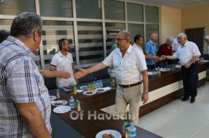 Müdür Aktaş Of'ta okul müdürleriyle buluştu