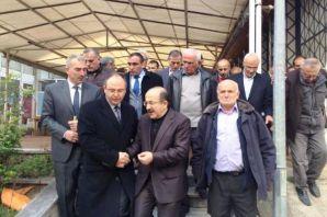 Orhan Başkan Dernekpazarı'nda