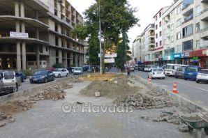 Trafik için ilk adım atıldı PTT Kavağı kapatıldı